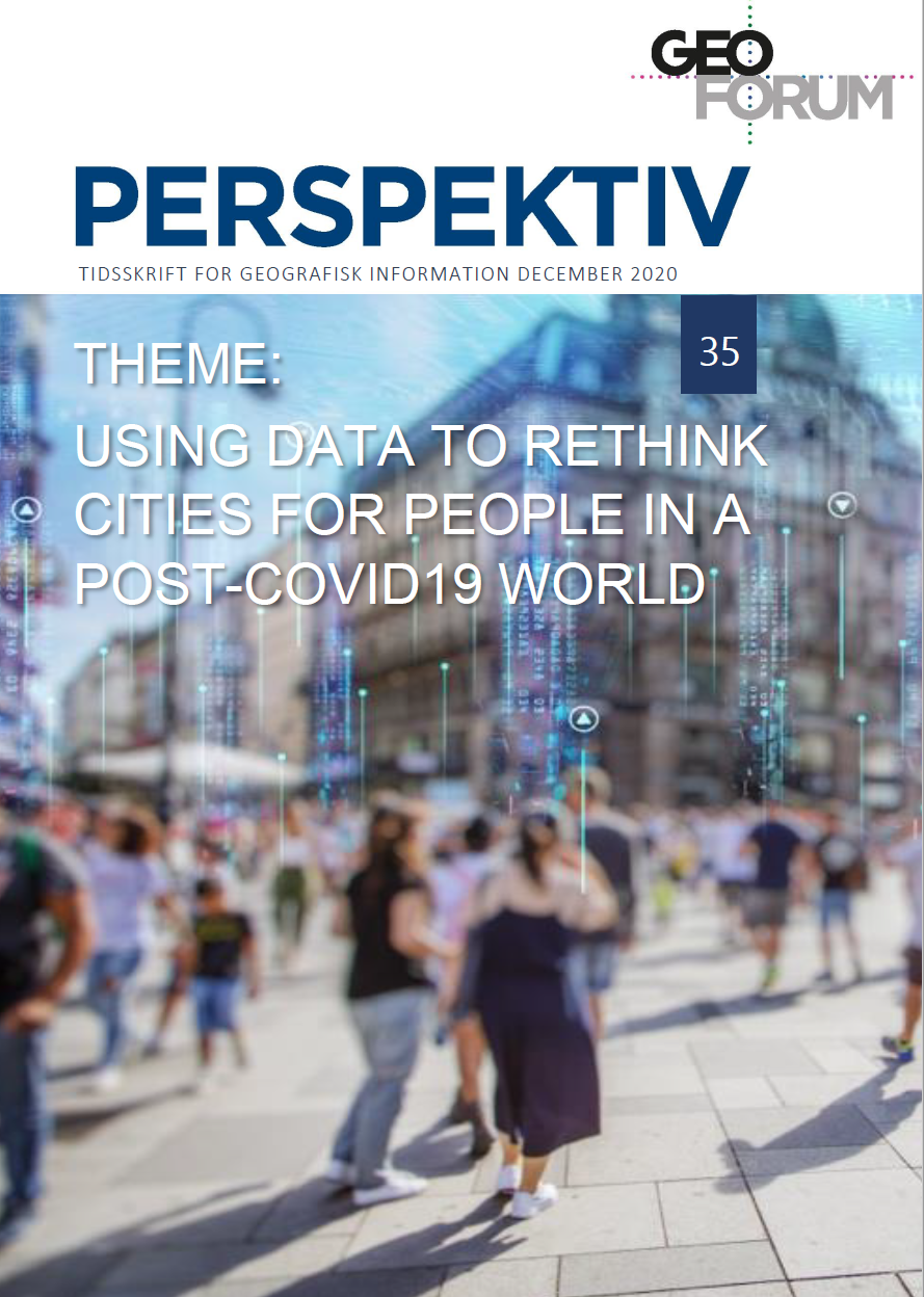 View Vol. 19 No. 35 (2020): Using data to Rethink Cities for people in a Post-COVID19 World
