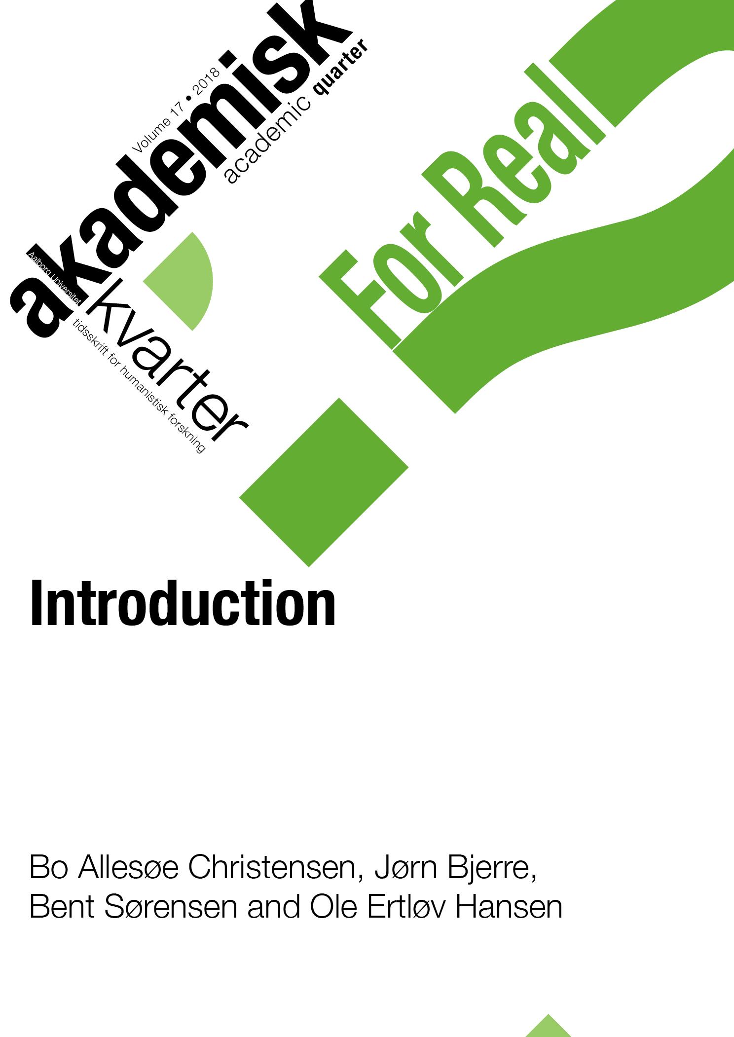 Introduktion | Introduction