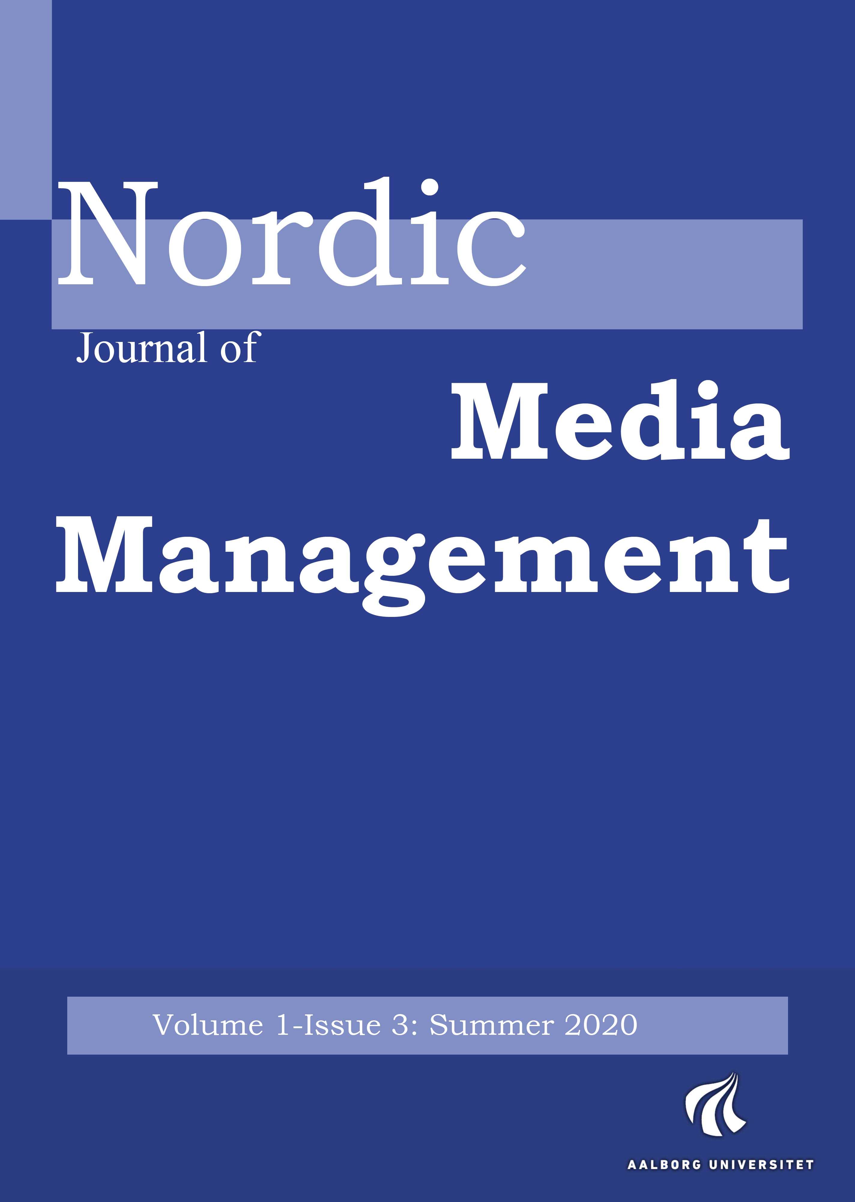 Nordic Journal of Media Management 1(3)