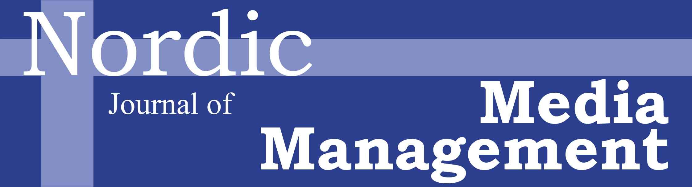 Nordic Journal of Media Management