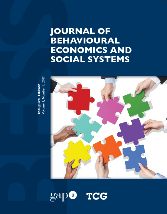 View Vol. 1 No. 1 (2019): Journal of Behavioural Economics and Social Systems (BESS)