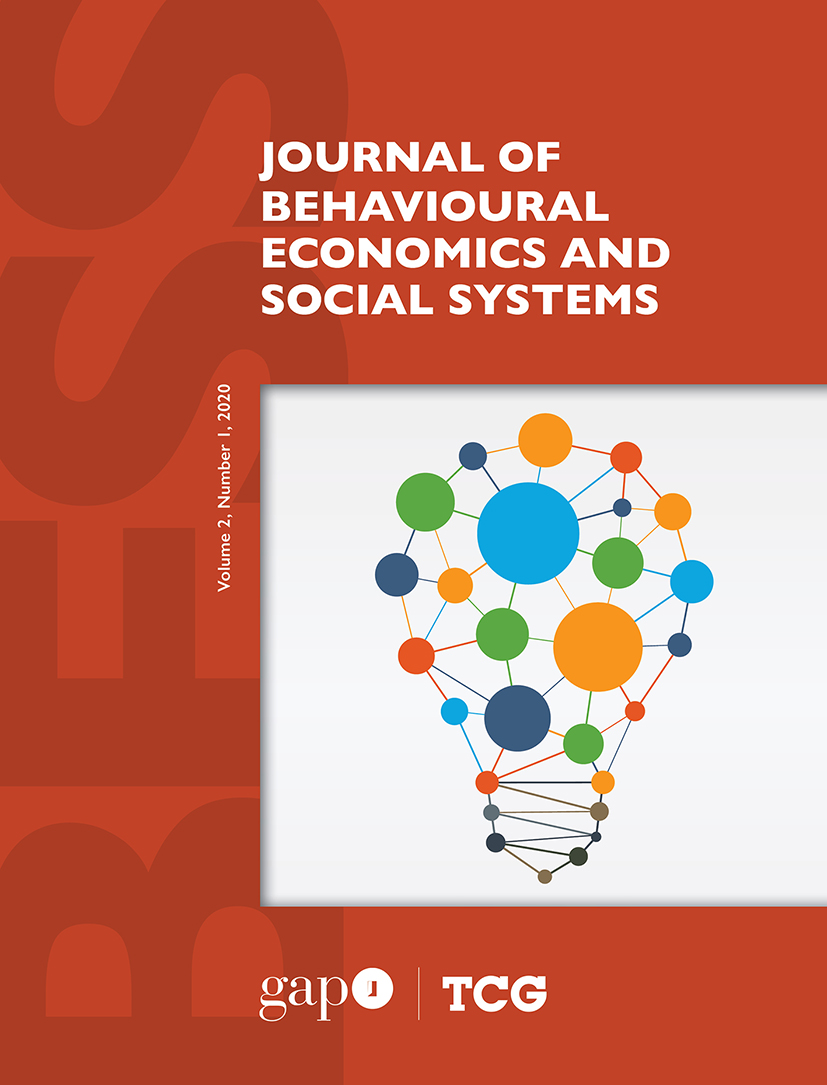 View Vol. 2 No. 1 (2020): Journal of Behavioural Economics and Social Systems (BESS)