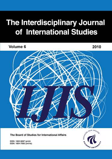 Interdisciplinary Journal of International Studies - 2010