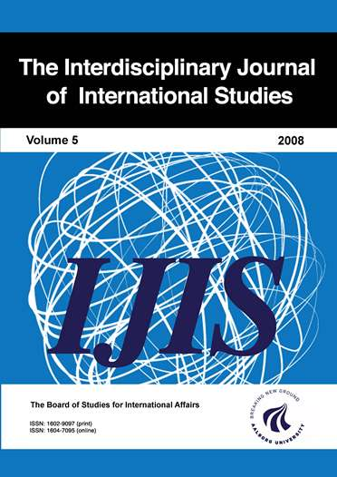 The Interdisciplinary Journal of International Studies - Volume 5, 2008